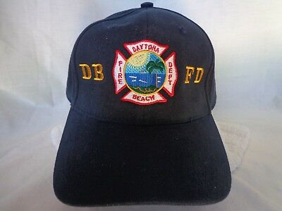 FL Daytona Beach Florida Fire Dept. Hat Cap *New*