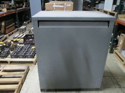 Sylvania Power Transformer 303-415-3 3Ph 300kVA 60Hz 480-208Y/120 Used