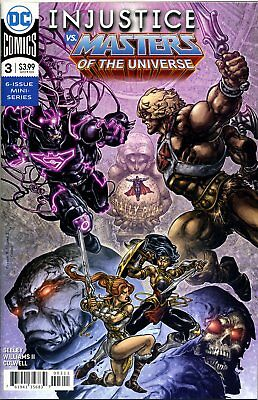 INJUSTICE VS THE MASTERS OF THE UNIVERSE #3 (OF 6) - F869 - PreOrder 19.09.2018