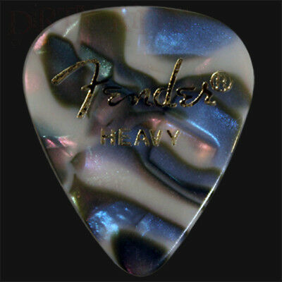 Fender Abalone Heavy Guitar Picks / Plectrums - Choice Of Quantities