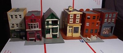 Train Ho Lot Layout Buildings Row House Down Town Some Pola And Others