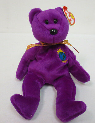 Beanie Baby Millenium Bear Babies 1999 Collection Rare Collectors Ty Cute Toy