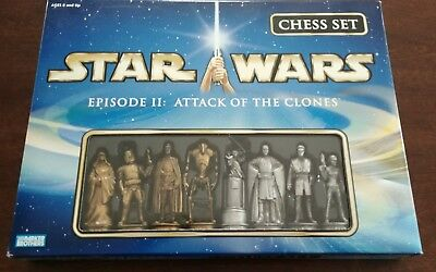 Star Wars Chess Set NIB Episode 2 II Attack Of The Clones New In Box Never Open