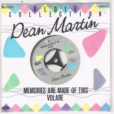 """7"""" - Dean MARTIN - MEMORIES ARE MADE OF THIS / VOLARE - german RE-ISSUE - PS"""