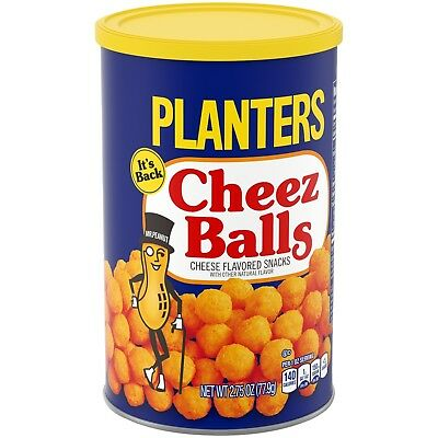 Planters Cheez Balls 2018 Limited Edition Cheese Balls Selling Fast!
