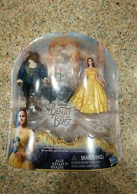 Disney Beauty and the Beast Enchanted Rose Scene Doll Figure Hasbro FREE SHIP!!!