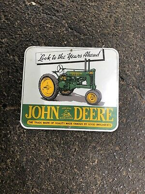 John Deere advertising sign Moline, Illinois- Ande Rooney