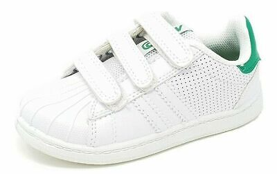 Boys Girls Kids MX2 Black White Sports School Trainers Shoes Size 8 to 2