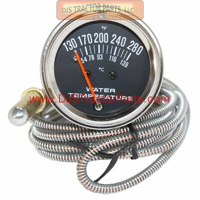 susuki Tractor Universal 2 Water Temperature Gauge Numeric 6 Feet Cable