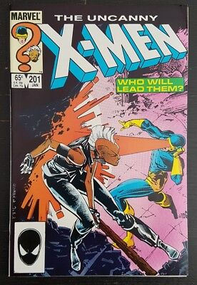 Uncanny X-Men #201 (1986 Marvel) *1St App Of Cable As Baby Nathan* Nm