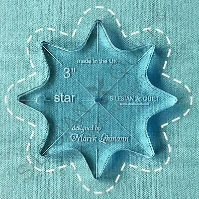 Template for quilting - Star 3 inches