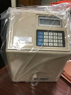 Amano Computerized  Employee Time Clock ,microder  Mjr-7000... Used