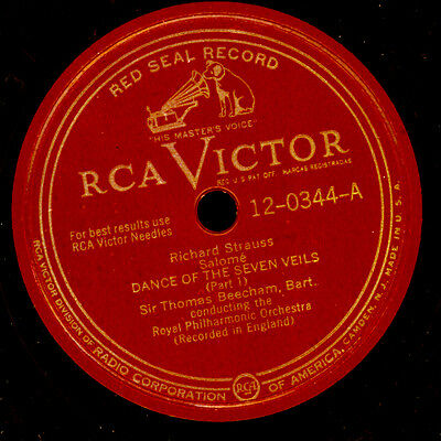 ROYAL PHILHARM. ORCHESTRA. & BEECHAM  R. Strauss: Dance of the seven Veils G3349