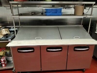 Nor-Lake NLSMP72-30 20 cu. ft. Commercial Refrigerated Sandwich Unit