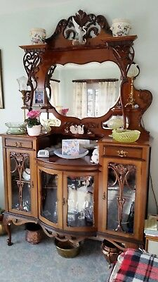 Antique Sideboard in the Rococo Style