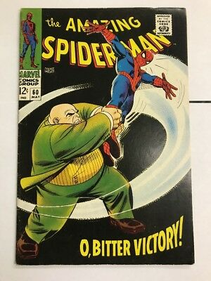 Amazing Spider-Man #60 Kingpin VG/FN Silver Age