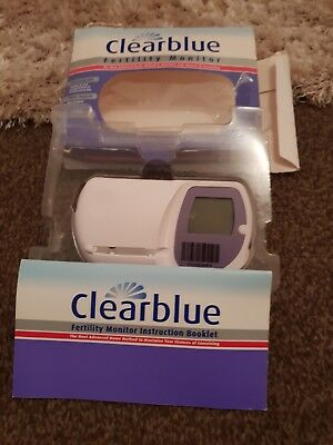 Clearblue Fertility Monitor - Pre owned - original box and instructions
