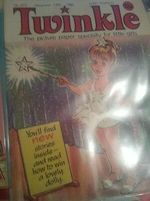 Twinkle Comic For Little Girls.December 13th 1980.No.673.
