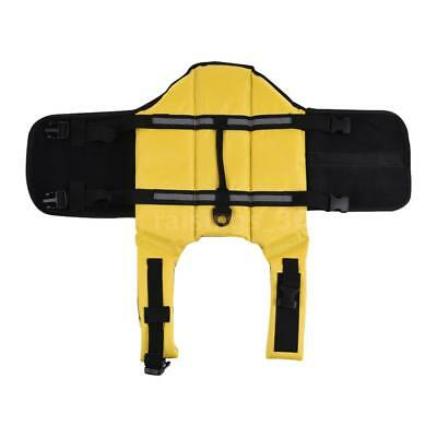 Pets Dog Life Jacket Buoyant Secure Float Vest Outdoor Water Swimming A4O5
