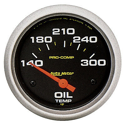 Autometer 5447 Pro-Comp Oil Temp Gauge, 2-5/8 in., Electrical