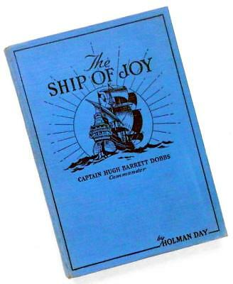 1931 The SHIP of JOY Shell Oil Co. HAPPYTIME radio program book AUTOGRAPHED
