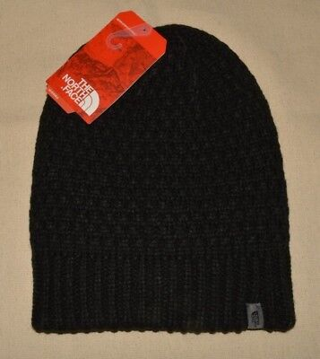 0dad985ac0f New North Face Black Shinsky Beanie Winter Hat Unisex Men s Women s One Size