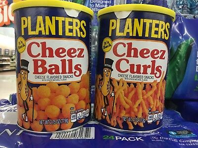 Planters Cheez Balls And Cheez Curls Pack Of Two Limited 2018!