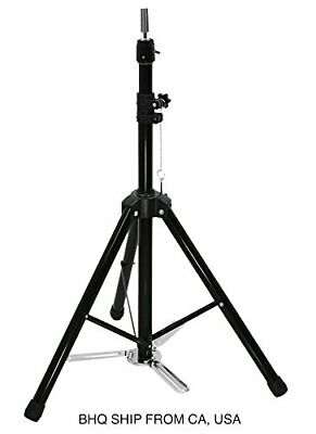 Adjustable Hair Dressing Tripod Training Cosmetology Mannequin Head Holder Stand