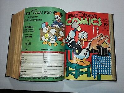 Walt Disney's Mickey Mouse Bound Comic Book Collection. Volume #2 1-of-a-kind