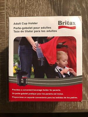 Britax B-Agile Stroller Adult Cup Holder Car Seat Accesories New
