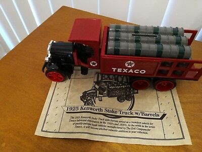 New Texaco collector series #9 1925 Kenworth Stake Truck