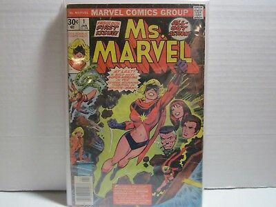 Ms. Marvel #1 1st appearance. Great Key Comic For Your Collection.