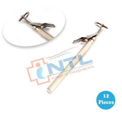 12 Pieces Of Amalgam Carrier Single Ended Surgical Dental Instruments