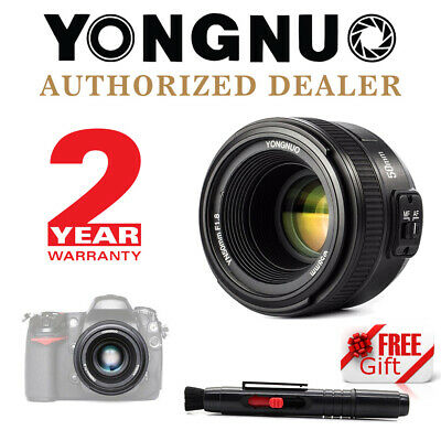 Yongnuo YN 50mm F1.8 Auto Focus Fixed Prime Lens for Nikon DSLR + Pen