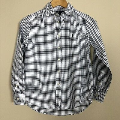 Boy's Ralph Lauren Button Down Size Medium