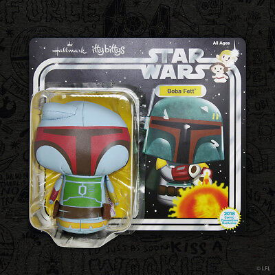 SDCC 2018 Star Wars Boba Fett Itty Bitty Plus Hallmark