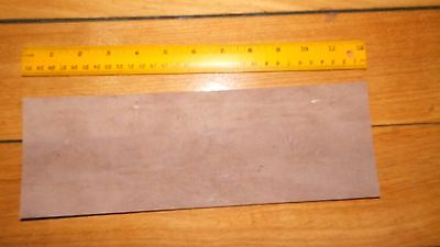 KANGAROO tail LEATHER VEG TANNED NATURAL 1 @ 300 x 100mm- wallet case strop band