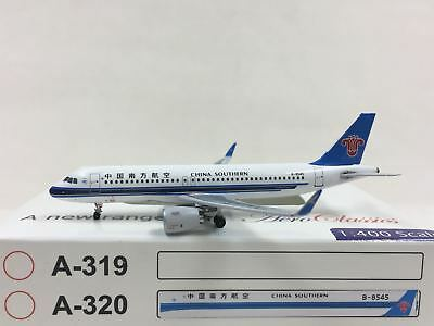 AEROCLASSICS CHINA SOUTHERN Airlines Airbus A320 NEO 1:400 B-8545