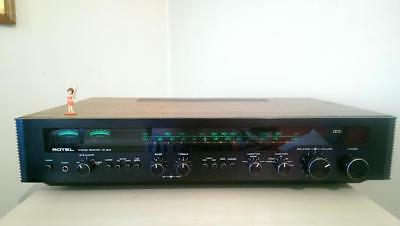 ROTEL RX-802 receiver vintage audio, 2 turntable inputs preamp out - clearance