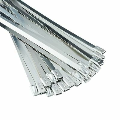 Stainless Steel Cable Zip Ties Wraps - Marine Grade - Excellent Quality