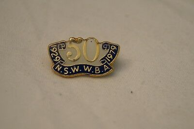 Collectable - Vintage - NSW WBA - 50 Years - 1929-1979 - Badge - Medal
