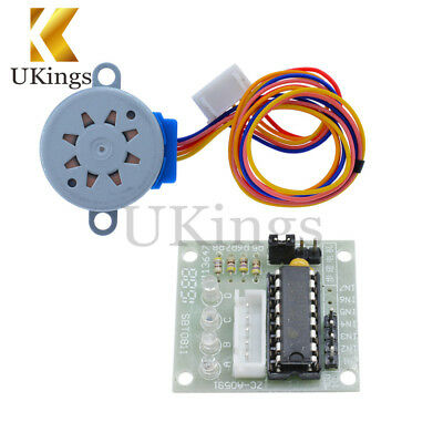 1/2/5/10PCS 28mm 5V ULN2003 Stepper Motor+Driver Board 4-Phase 5 Line in 1 Kit K