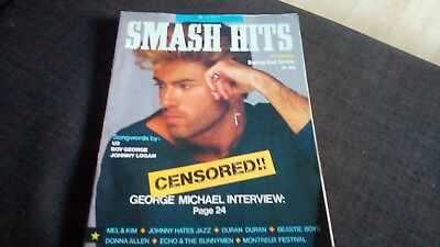 Smash Hits Magazine  3-16 June 1987 - George Michael Interview,