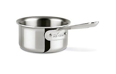 All-Clad 42006 Stainless Steel Tri-Ply Bonded Dishwasher Safe Butter 0.5-Quart,