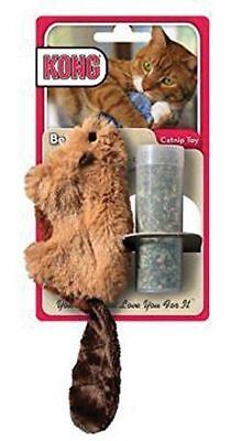KONG Refillable Catnip Beaver Cat Kitten Toy Cat Nip
