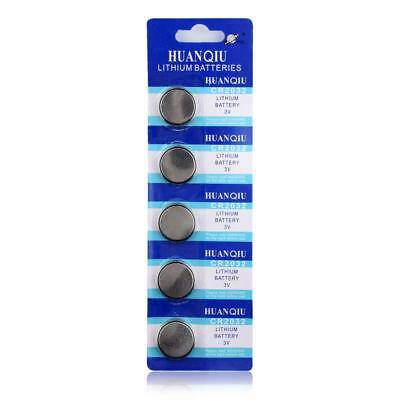 Button Batteries CR2025 CR2450 CR1632 CR2016  3V For Watch 5pcs Coin Cell