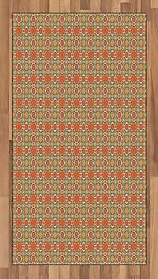 Middle Eastern Area Rug Decorative Flat Woven Accent Rug Home Decor 2 Sizes