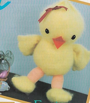Chick Toy Pattern For Machine Knitting