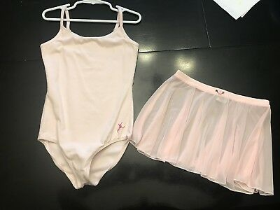 Future Star by Capezio - light pink leotard with matching skirt - Small (5/6)