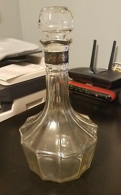 Vintage Jack Daniels Whiskey Decanter, Free shipping!